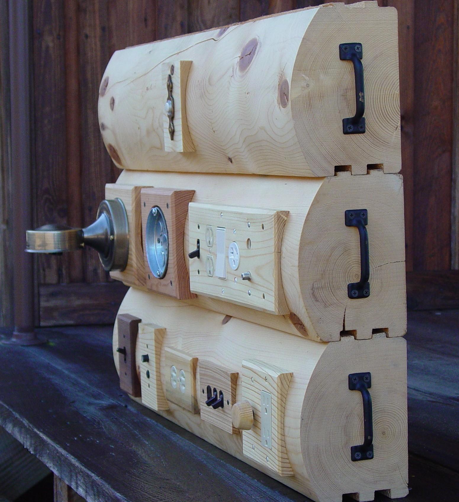 Wiring Log Homes - Smart Wiring Diagrams •