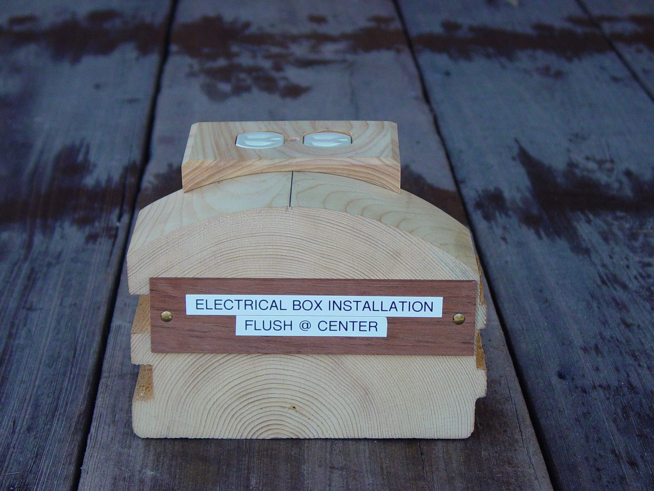 Installation Instructions For Getting Your Log Wall Plates Ordered And Installed