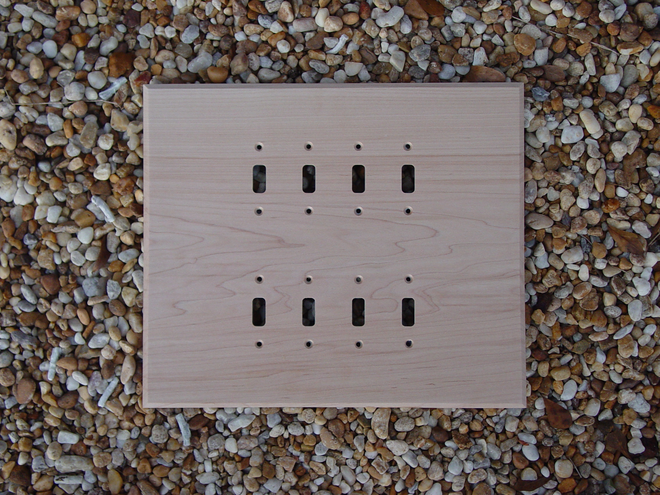 Custom Wood Wall Plate Switchcovers